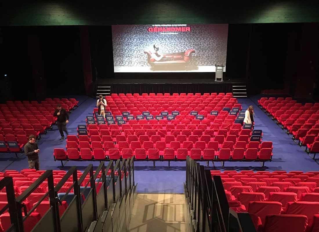 Le public système cinéma - festival Gérardmer